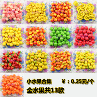 free shipping Artificial fruit mini fruit model set photography props furniture kitchen