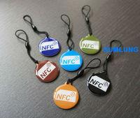 6pcs NFC Tag for Mega 6.3 i9200 i9205 Galaxy S5 S4 Note 3 wp8 Lumia 920 925 phone Nexus 5 7 10 Android tablet RFID NTAG203 NDEF
