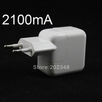 EU PLUG 10W 2100MA USB Power Charger For iPhone 3GS 4G 4S iPhone 5 iPod iPad 1 2 3