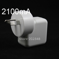 AU PLUG 10W 2100MA USB Power Charger For iPhone 3GS 4G 4S iPhone 5 iPod iPad 1 2 3