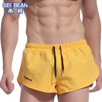 New SEOBEAN men's sexy shorts fashion boxer underwear trunks