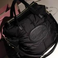2014 women's winter handbag vintage shoulder bag casual cross-body space cotton big bag