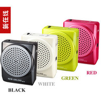 HOT! 2013 New online N74 teaching quality goods/guide/promotion megaphone big volume amplifier loudspeaker Free shipping