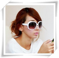 2013 hilton sunglasses anti-uv large large  frame sunglasses women sunglasses + original box