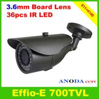 Indoor/Outdoor Using Security IR Camera 700TVL Sony Effio-E 4140+811 With OSD Menu Surveillance Video Camera