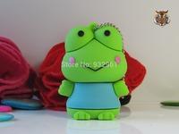 Cool shrek frog model USB 2.0 Memory Stick Flash pen Drive 8GB