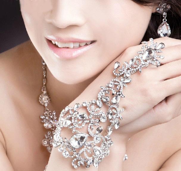 bright costume jewellery bridal bracelets wedding accessories