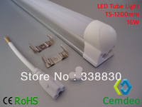 FREE SHIPPING Promotion Wholesale 100pcs/lot High Efficiency Non-isolated Power Driver Type LED Tube 16W 1.2m T5 1Year Warranty