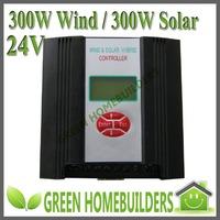 CE 600W wind solar hybrid  street light controller(300W wind+300W solar+ 24V )  communication&low voltage charge optional