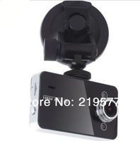 Car DVR K6000 NOVATEK Chipset 2.7'LCD 140 Degree Lens Car Vehicle Black Box Camera Recorder DVR G-Sensor dvr Camera Freeshipping