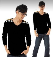 2013 New Arrival Free Shipping Fashion Men's Sweater Casual Knitwear Drop ship