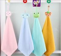 Free shipping, 5p/lot cartoon clean towels hanging kitchen towel hanging towel M148
