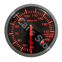 2.5 INCH 60MM Auto Defi Gauge, Defi BF Gauge, car meter WATER TEMP Temperature Meter, Red and White Light , Fast Shipping