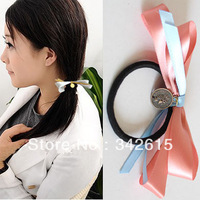 Double layer bow headband hair accessory
