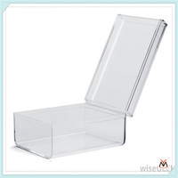 luxury acrylic cosmetic box,rectangular acrylic box