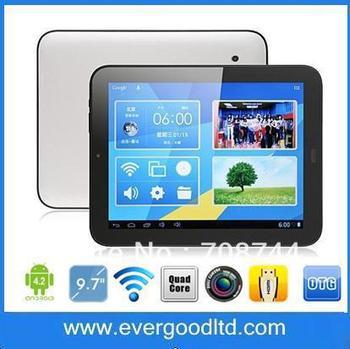 9.7inch Yuandao Vido N90 IPS Quad Core Tablet PC RK3188 1.6Ghz Dual Camera HDMI OTG WIFI 1GB 16GB