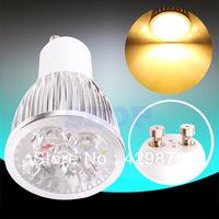 Hot GU10 Warm White 3x3W,4x3W,5x3W  PAR20 85-265V Spotlight 220V 110V Home LED Light Bulb Lamp 9W 12W 15W