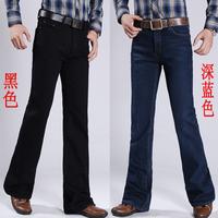 2014 Autumn new arrival casual all-match men's boot cut denim jeans