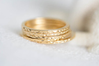 Free shipping 30pcs/lot Simple gold/silver/rose-gold plated slim inca pattern stackable rings JZ-075
