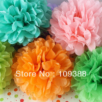 "10pcs12"" Wedding Party Paper Pom Poms Many Colors, You Pick"
