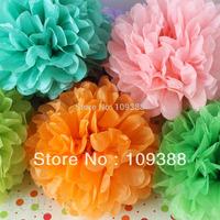 "10pcs12"" Wedding Party Paper Pom Poms Many Colors, You Pick"