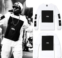 Streets of 2013 European and American hip hop fashion men's T-shirt, T-shirt bag mail!