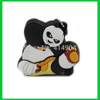 Hot Sale Retail Kung Fu Panda u disk USB Flash pen drives 1gb/2gb/4gb/8gb/16gb/32gb pendrive thumb drive,usb key gift