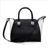 designers brand 2013 new handbags women leather bags,fashion zipper Mini Bowling ladies shoulder bags, women's messenger bags