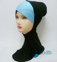 hijab neck cover ninja Hijab inner Full Neck Cover Abaya Various Colours 20pc/lot free ship