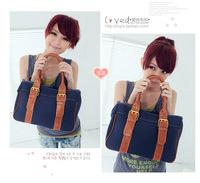 Wholesale Korean version of the new 001B female bag retro fashion canvas shoulder bag hand bag handbag