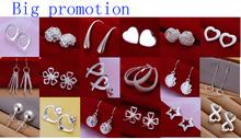 cheap earrings silver
