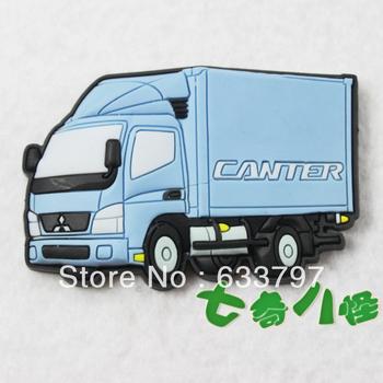 Creative refrigerator magnets, whiteboard magnet toys, big trucks