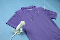 New Products 14 Italy A C F Fiorentina Blank Men's Camisetas Purple square collar Home Jersey Breathable Best Thailand Qualtiy