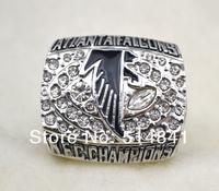 Free Shipping !size 11 replica 1998 Atlanta Falcons Super Bowl Football World  champions ring for gift
