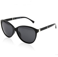 New  Polarized  Women Sunglasses Unisex Retro Sunglasses  Fashion Sunglasses Vintage Sun Glasses With Box  Black Leopard