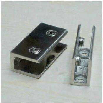 Glass lengthen elegant  drawing 8-10mm  fitted shelf clamp shower door hinge