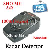 Hotest SHO-ME 520 Radar Detectors with X/K/KA/Ultra-X/Ultra-K/Ultra-KA/VG-2/Laser 360 Degrees ! Wholesale ! Free Shipping !
