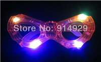 Free shipping 10pcs/lot Masquerade LED flashing glasses Decorative masks