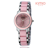 Original Brand Eyki Kimio Luxury Quartz Bracelet Woman Watches Fashion Stainless Steel Watches Free Shipping