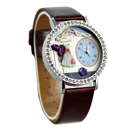 Hot sale! !Women mini watches, ceramic rhinestone watches. Free shipping(China (Mainland))