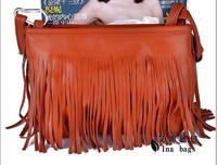2012 fashion tassel small cross-body bag women's handbag  +FREE SHIPPING