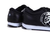 6 colors size 7-10 new men genuine cowhide casual professional brand sport shoes men's sneakers MS13024 free shipping