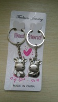 lovely pig a pair couple key chain
