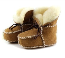 2014 winter baby boots, high-quality warm sheepskin baby shoes,baby girl boots&baby boy boots(China (Mainland))