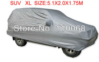 SUV XL 5.1*2.1*1.75M big size Car covers for Toyota LAND CRUISER Volvo Subaru SUV Resist snow car cover waterproof