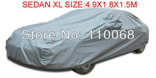 Universal Sedan Car covers XL 4.9*1.8*1.5M for Camry SONATA Hyundai Toyota Kia all car resist snow car cover waterproof(China (Mainland))