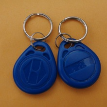 RFID 125KHz Writable Rewrite EM4305 Proximity Access control ID tag keyfobs token -100pcs(China (Mainland))