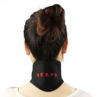 Negative ion Tourmaline Neck Care Pad Neck Massager Neck Heating release neck pain and cervical vertebra cure health care