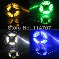 6roll/lot wholesale 5m 300LED per Roll 5050 SMD 12V flexible light 60led/m LED strip, white/warm white/blue/green/red/yellow