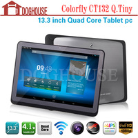 13.3 inch Colorfly CT132 Q.Tiny Android 4.1 A31 Quad Core IPS Screen 1280*800 Tablet PC WIFI G-sensor